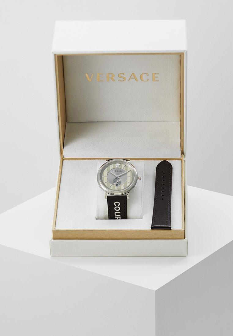 Versace Watches - V-CIRCLE THE MANIFESTO EDITION - Orologio - black
