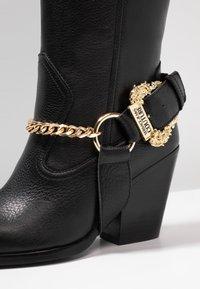 Versace Jeans Couture - Cowboy/Biker boots - nero - 2
