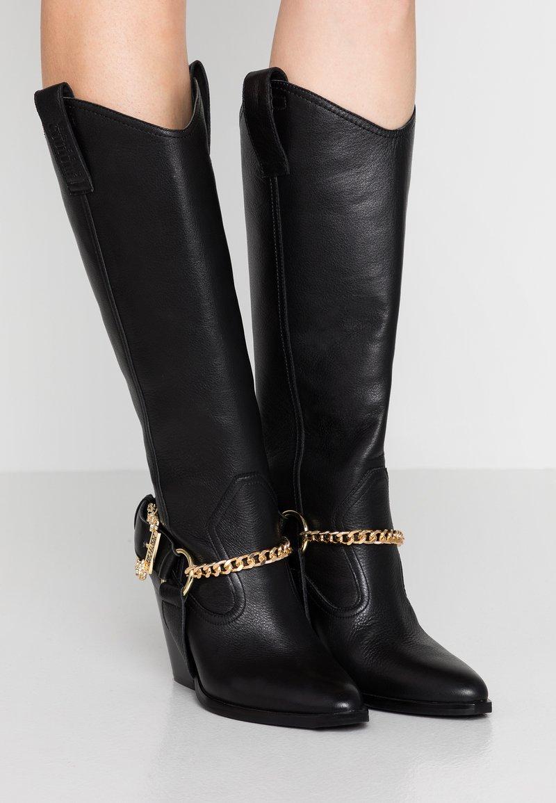 Versace Jeans Couture - Cowboy/Biker boots - nero