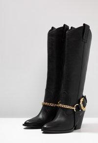 Versace Jeans Couture - Cowboy/Biker boots - nero - 4