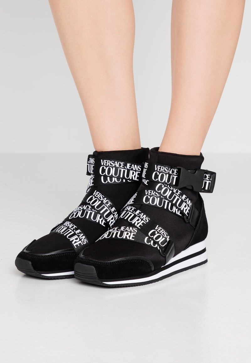 Versace Jeans Couture - High-top trainers - black