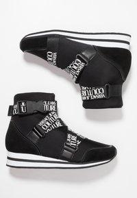 Versace Jeans Couture - High-top trainers - black - 3