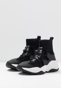 Versace Jeans Couture - Vysoké tenisky - nero - 4