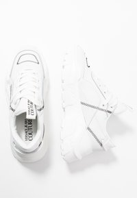 Versace Jeans Couture - LINEA FONDO SPEED  - Sneaker low - white - 3