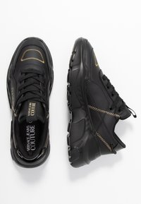 Versace Jeans Couture - LINEA FONDO SPEED 1 - Trainers - black - 3