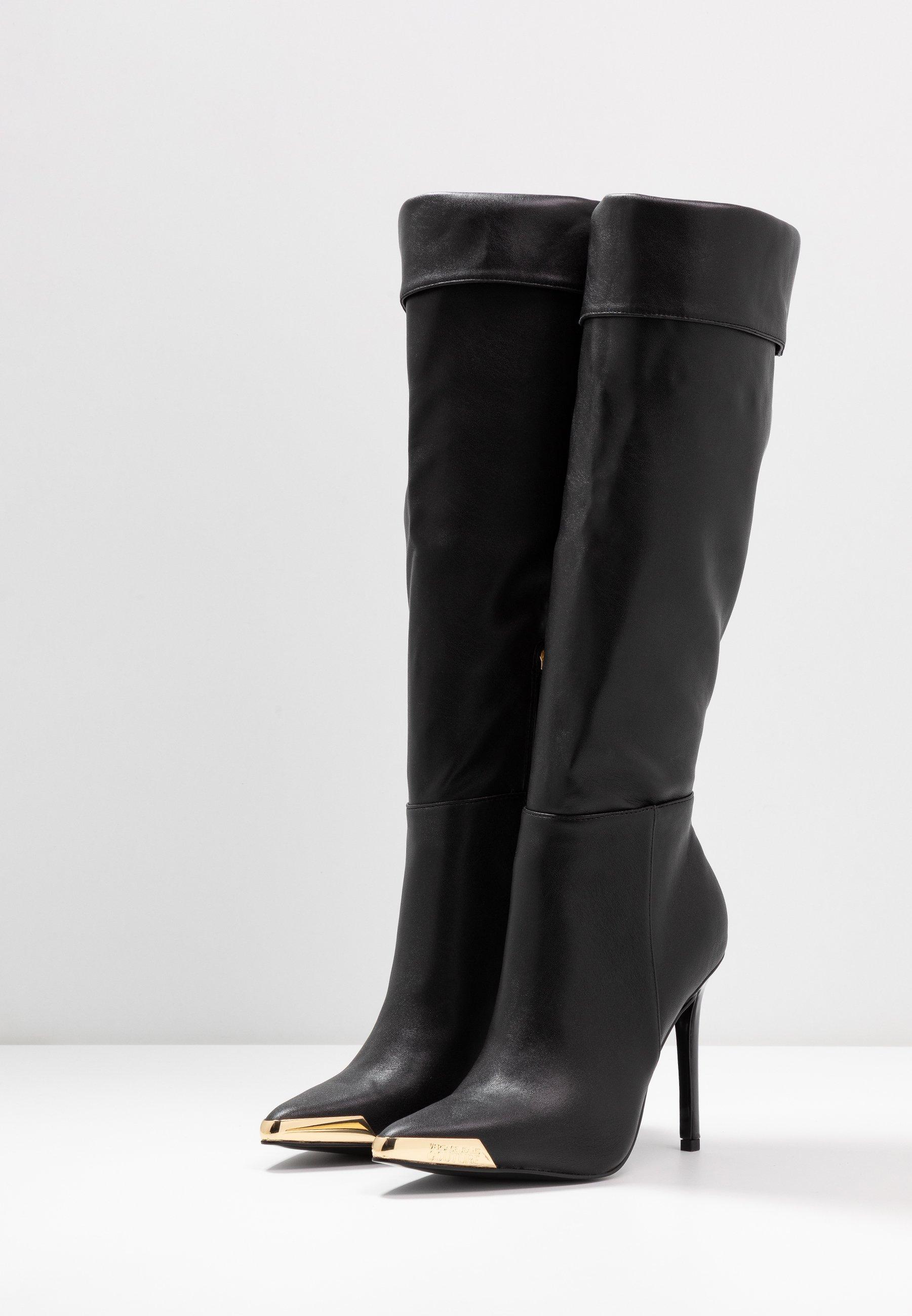 Versace Jeans Couture Bottes à talons hauts - nero