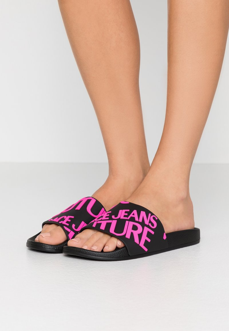Versace Jeans Couture - Pool slides - black