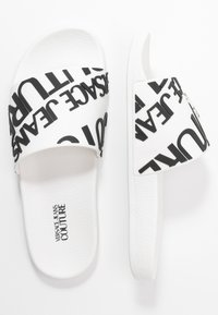 Versace Jeans Couture - Sandály do bazénu - white - 3