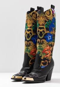 Versace Jeans Couture - Stivali texani / biker - multicolor - 4
