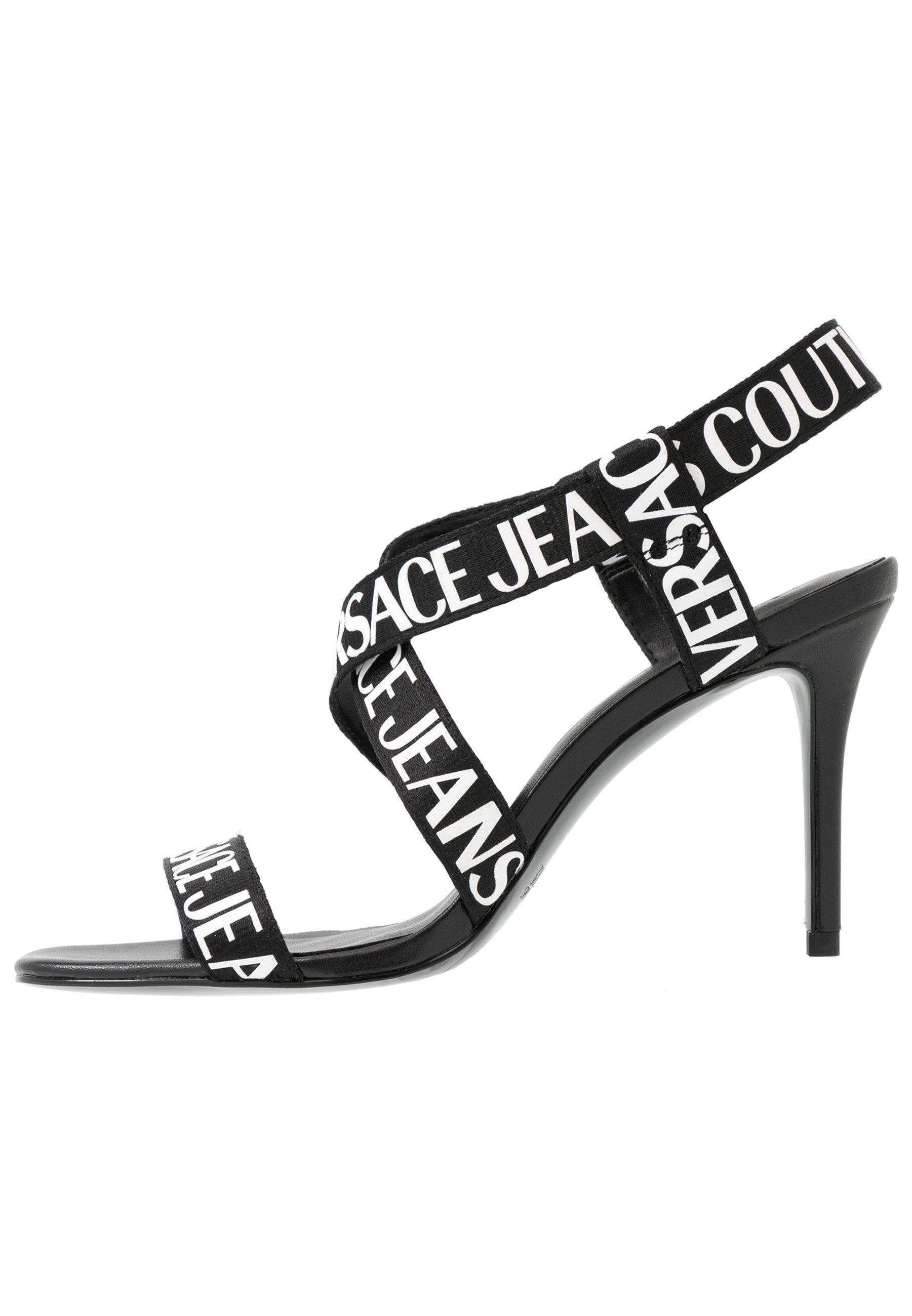 Versace Jeans Couture LINEA FONDO EMILY - Sandały na obcasie - nero