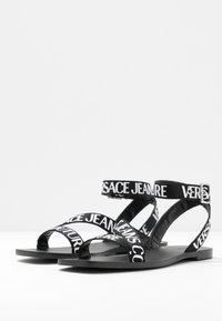 Versace Jeans Couture - LINEA FONDO ALICE - Sandalen - nero - 4