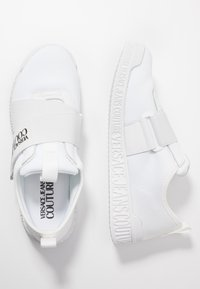 Versace Jeans Couture - LINEA FONDO PENNY - Matalavartiset tennarit - bianco ottico - 3