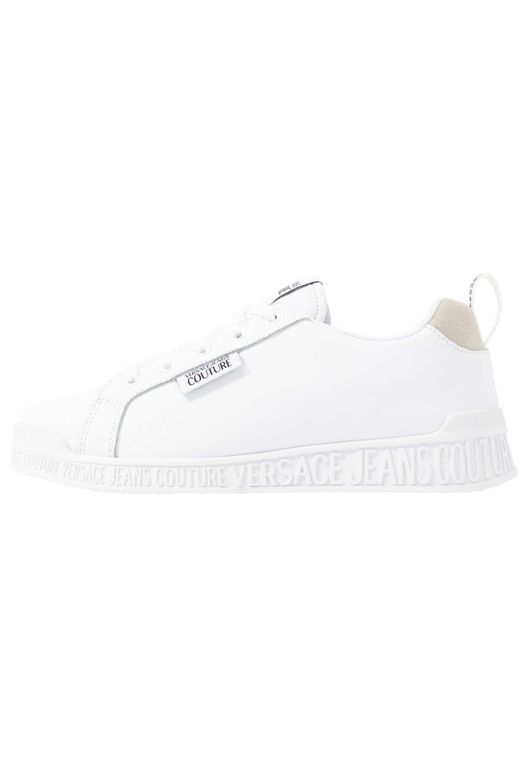 Versace Jeans Couture LINEA FONDO PENNY - Baskets basses - bianco ottico