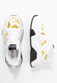 Versace Jeans Couture - LINEA FONDO FIRE ONE - Trainers - white - 3