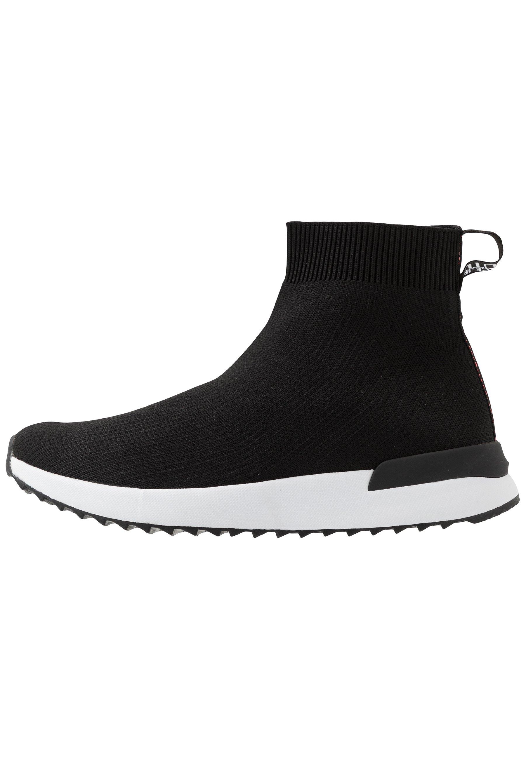 versace jeans sneaker high nero