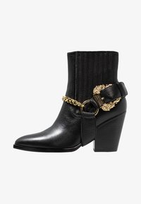 Versace Jeans Couture - Cowboy/biker ankle boot - nero - 1