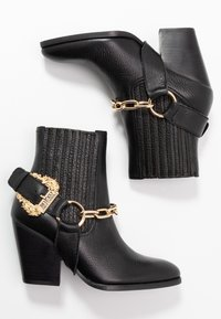 Versace Jeans Couture - High heeled ankle boots - nero - 3