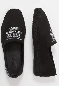 Versace Jeans Couture - Espadrilky - black - 1