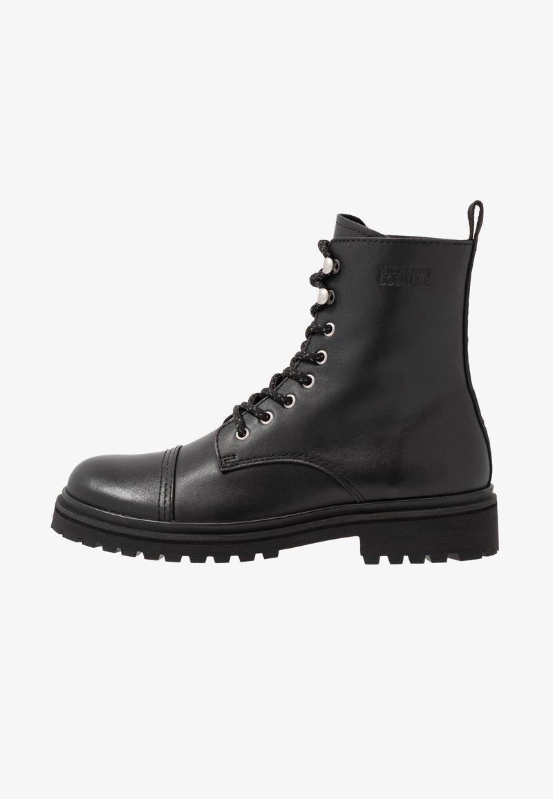 Versace Jeans Couture - Šněrovací kotníkové boty - black