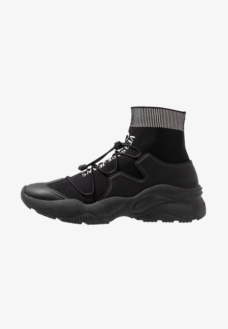 Versace Jeans Couture - LINEA FONDO EXTREME - Höga sneakers - black