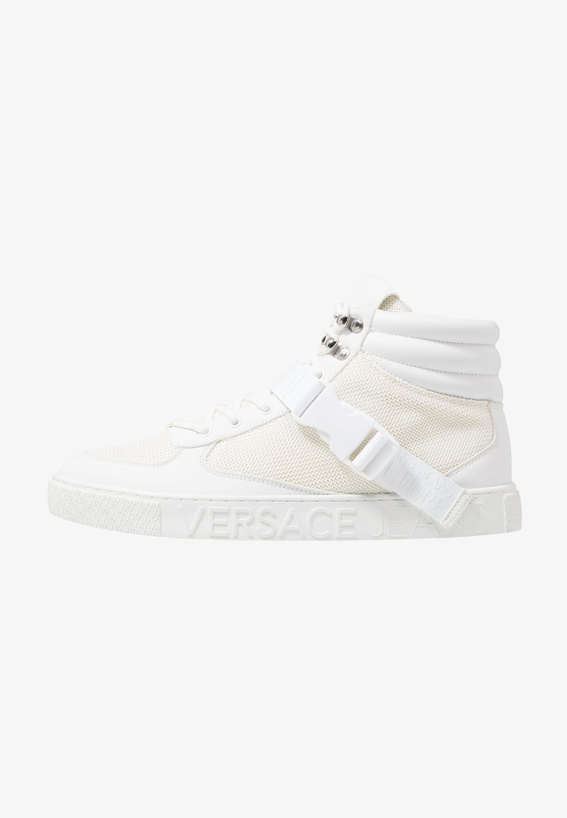 Versace Jeans Couture - FONDO CASSETTA - Sneakersy wysokie - white