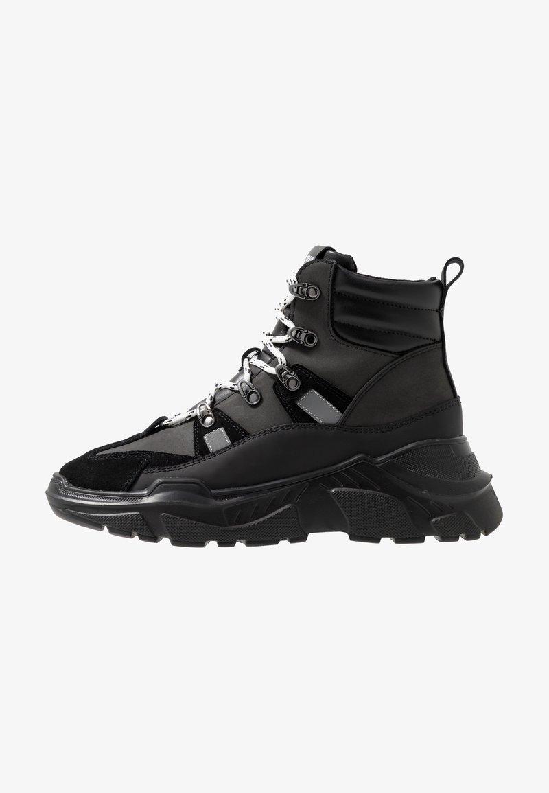 Versace Jeans Couture - LINEA FONDO SPEED  - Höga sneakers - black