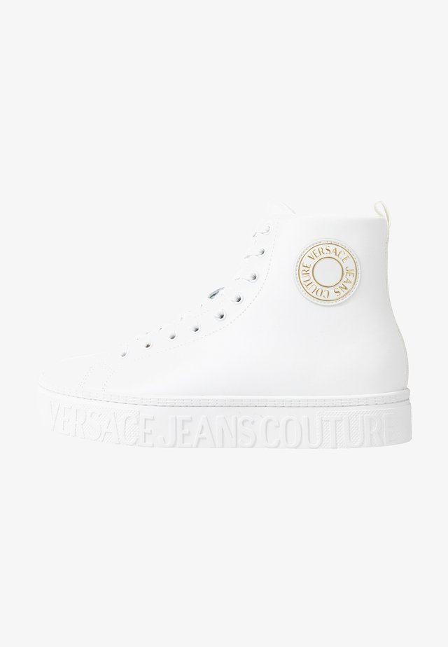 CASSETTA LOGATA  - High-top trainers - white