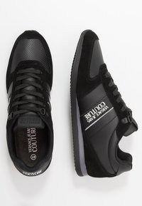 Versace Jeans Couture - LINEA FONDO RUNNING - Sneakers basse - black - 1