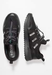 Versace Jeans Couture - LINEA FONDO RUNNING - Sneakers - black - 1