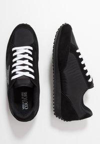 Versace Jeans Couture - LINEA FONDO SPYDER - Sneakersy niskie - black - 0