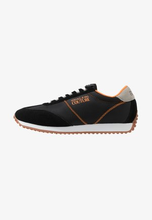Sneaker low - black/orange