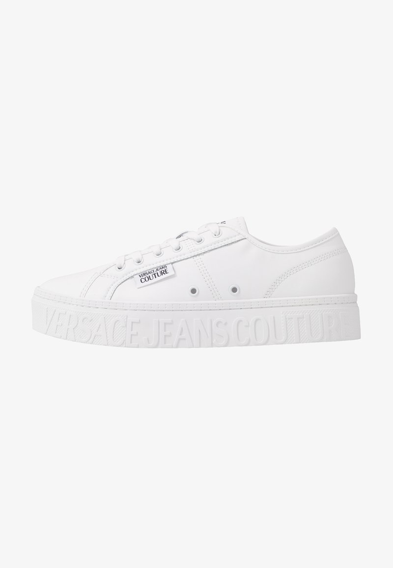 Versace Jeans Couture - CASSETTA LOGATA  - Sneaker low - white