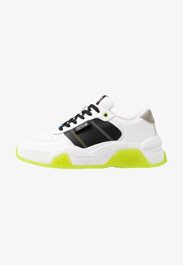 Tenisky - white/green