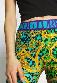 Versace Jeans Couture - LADY FUSEAUX - Legging - pure mint - 5