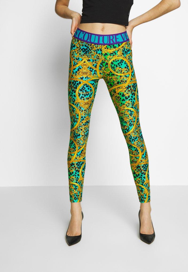 Versace Jeans Couture - LADY FUSEAUX - Legging - pure mint
