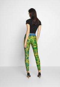 Versace Jeans Couture - LADY FUSEAUX - Legging - pure mint - 2