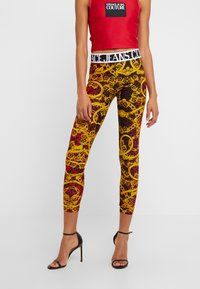 Versace Jeans Couture - LADY FUSEAUX - Leggings - Trousers - racing red - 0