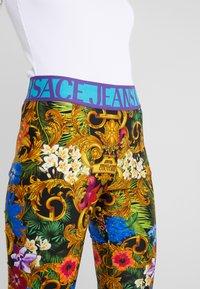 Versace Jeans Couture - LADY FUSEAUX - Leggings - mult scuri - 4