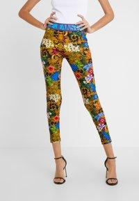 Versace Jeans Couture - LADY FUSEAUX - Leggings - mult scuri - 0