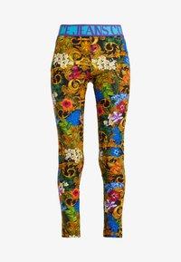 Versace Jeans Couture - LADY FUSEAUX - Leggings - mult scuri - 3