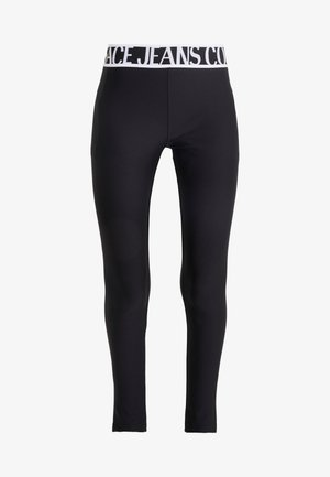LADY FUSEAUX - Leggings - Trousers - nero