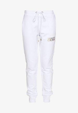 LADY TROUSER - Teplákové kalhoty - bianco ottico