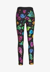 Versace Jeans Couture - Leggings - Trousers - multi colour jewels - 0