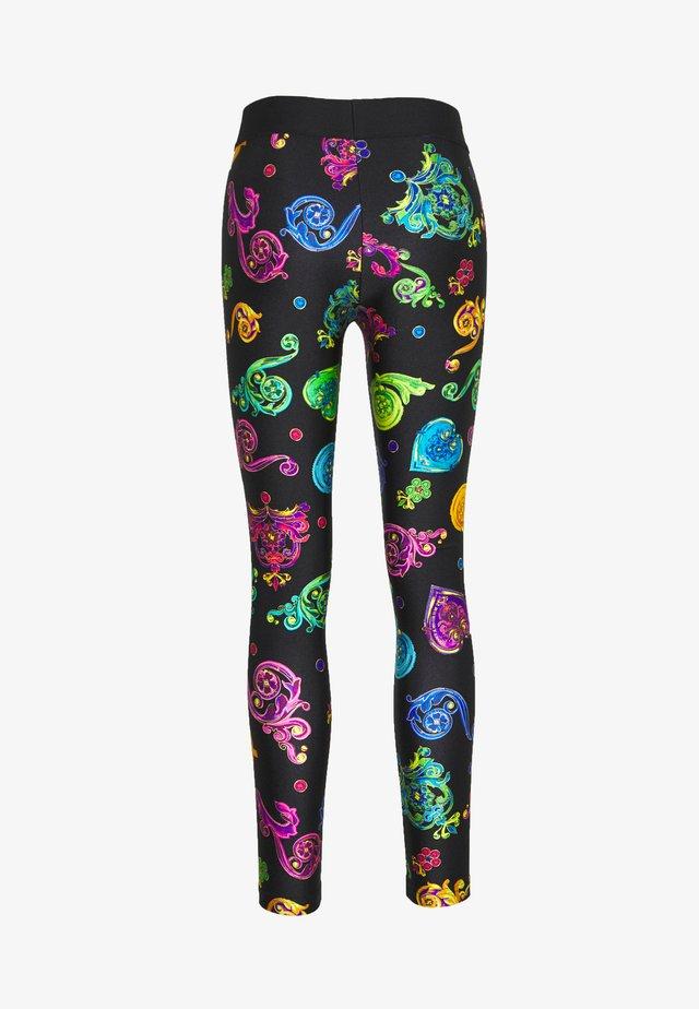 Leggings - Trousers - multi colour jewels