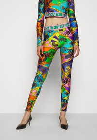 Versace Jeans Couture - Leggings - Trousers - multi-coloured - 0