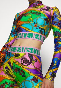 Versace Jeans Couture - Leggings - Trousers - multi-coloured - 3