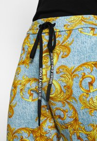 Versace Jeans Couture - Tracksuit bottoms - azzurro scuro - 5