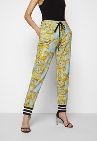 Versace Jeans Couture - Tracksuit bottoms - azzurro scuro - 0