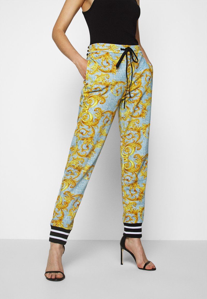 Versace Jeans Couture - Tracksuit bottoms - azzurro scuro