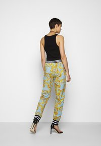 Versace Jeans Couture - Tracksuit bottoms - azzurro scuro - 2